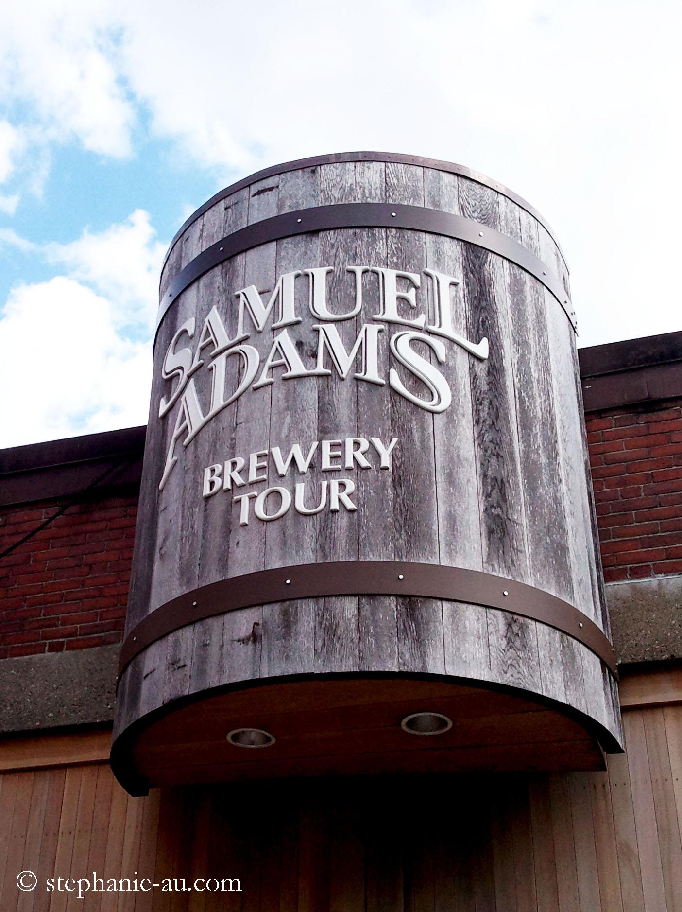 boston  samuel adams brewery tour